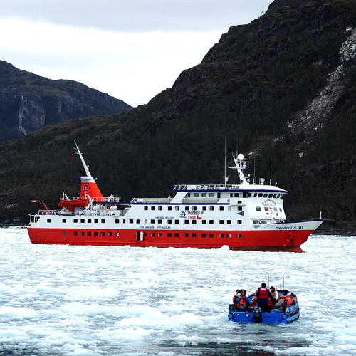 "Expedition Cruising ""MS Skorpios"" Patagonia"