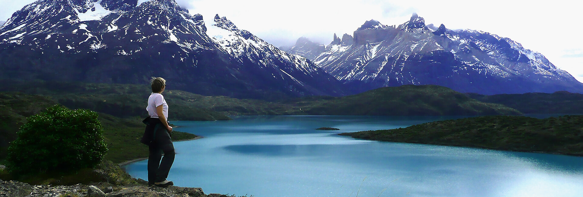 Lago Pehoe and Los Cuernos, the Horns