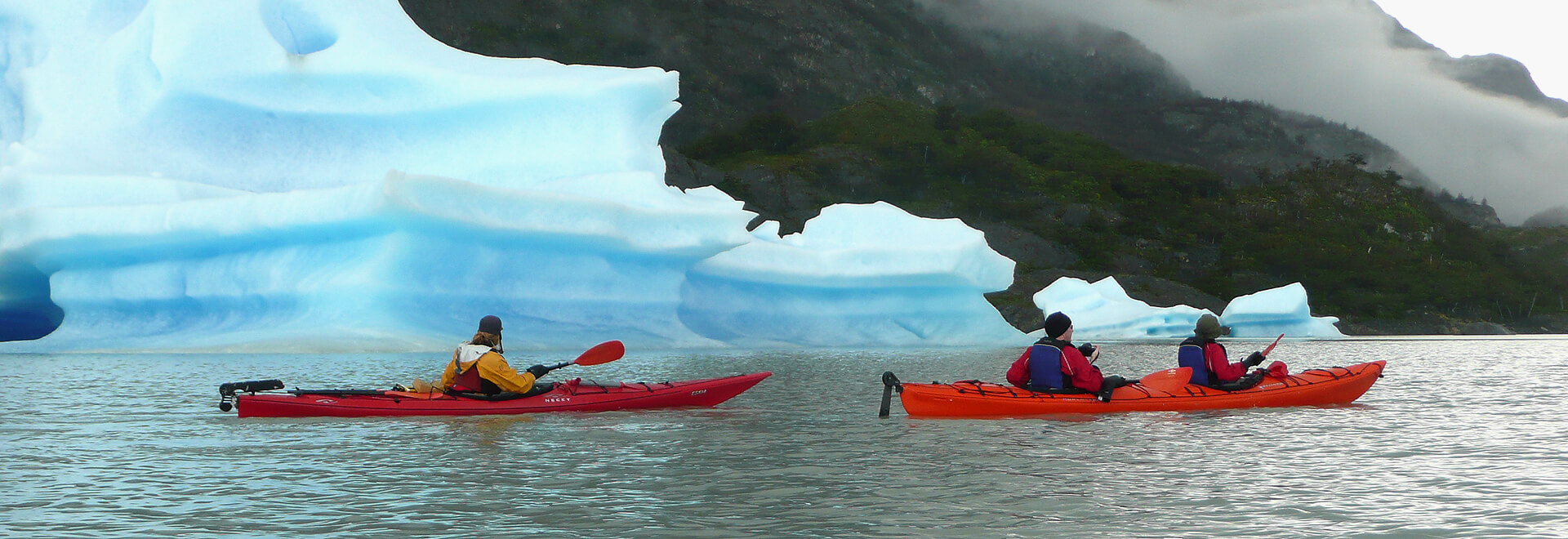 Kayaking in Torres del Paine National Park